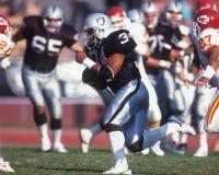 La BO Jackson Los Angeles Raiders Fotografia Stock Libera da Diritti