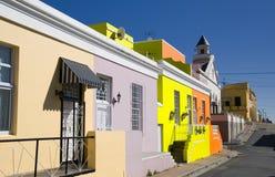 La BO-kaap, Città del Capo Immagine Stock