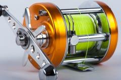 La bobine de pêche Photos stock