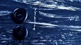 La bobine du fil sur la table Fil sur une bobine pour le métier MA Photographie stock libre de droits