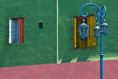 La Boca. Colorful detail in the neighbourhoud of La Boca, Bueonos Aires, Argentina Royalty Free Stock Images