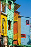 La Boca. Colorful detail in the neighbourhoud of La Boca, Bueonos Aires, Argentina Stock Images