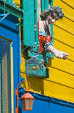 La Boca. Colorful detail in the neighbourhoud of La Boca, Bueonos Aires, Argentina Royalty Free Stock Photo