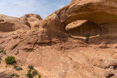 La Boca Arch Utah Imagens de Stock