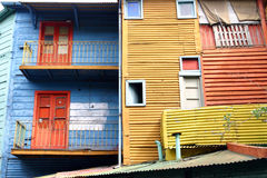 La boca in Buenos Aires Stockfotografie