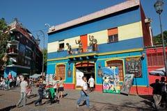 La Boca, Buenos aires Royalty-vrije Stock Afbeelding
