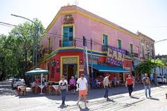 La Boca a Buenos Aires, Argentina fotografia stock libera da diritti