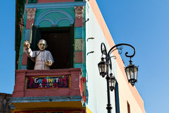 La Boca, Buenos Aires Argentina Fotografia de Stock Royalty Free