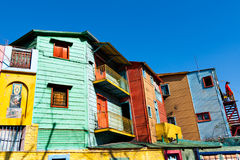 La Boca, Buenos Aires Argentina. Colorful neighborhood La Boca, Buenos Aires Argentina Stock Photography