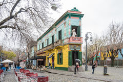 La Boca in Buenos Aires, Argentina Royalty Free Stock Photography