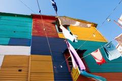 La Boca, Buenos aires Argentinië Stock Foto