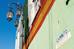 La Boca, Buenos aires Argentinië Stock Afbeelding