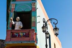 La Boca, Buenos aires Argentinië Royalty-vrije Stock Fotografie