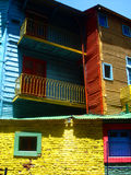 La Boca, Buenos Aires. The colors of La Boca, the most famous neighborhood in Buenos Aires, Argentina royalty free stock image