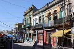 La Boca Buenos Aires de Caminito foto de stock royalty free