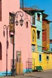 La Boca, bunte Nachbarschaft, Buenos Aires Argentinien Stockfotografie