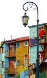 La boca - Caminito. Corrugated homes in La Boca - Buenos Aires Royalty Free Stock Photography