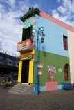 La Boca, Caminito Fotografia Stock