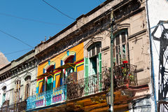 La Boca, colorful neighborhood, Buenos Aires Argentine Stock Image