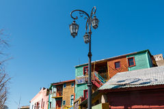 La Boca, colorful neighborhood, Buenos Aires Argentine Stock Photography