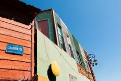 La Boca, colorful neighborhood, Buenos Aires Argentine Royalty Free Stock Photo