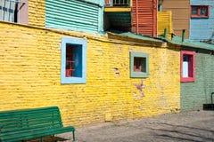 La Boca, colorful neighborhood, Buenos Aires Argentine Royalty Free Stock Photos