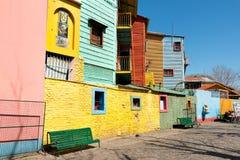 La Boca, colorful neighborhood, Buenos Aires Argentine Stock Photos