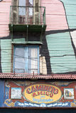 La boca painted house in Buenos Aires Royalty Free Stock Photography