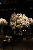 La boda florece el fondo oscuro Foto de archivo