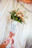 La boda florece la decoración Fotografía de archivo