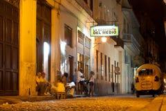 La Bodeguita del Medio à La Havane Photos libres de droits