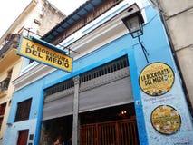 LA BODEGUITA DEL MEDIO, GEBURTSORT VON MOJITO, HAVANA, KUBA stockbilder