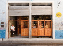 La Bodeguita del Medio in Havana. Royalty Free Stock Photo