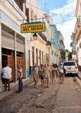 La Bodeguita del Medio  in Havana Royalty Free Stock Photos