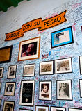 La Bodeguita del Medio, La Havane, Cuba Photo libre de droits