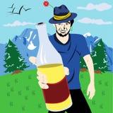 la boisson ont Image libre de droits