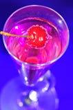 La boisson rose Image libre de droits