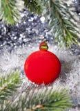 La bola del Año Nuevo Imagen de archivo libre de regalías