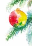 La bola del Año Nuevo stock de ilustración