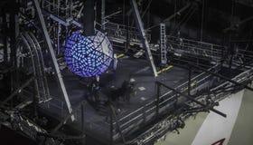 La bola del Año Nuevo - bola del Times Square de New York City Imágenes de archivo libres de regalías