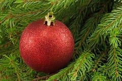 La bola roja Imagen de archivo libre de regalías