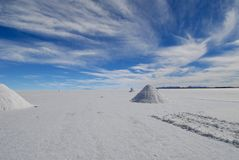 La Bolivia Fotografia Stock