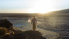 La Bolivia/Salar de Uyuni Immagine Stock