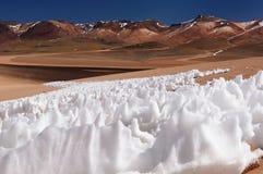 La Bolivia - sosta nazionale di Eduardo Avaroa Fotografia Stock Libera da Diritti