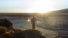 La Bolivie/Salar de Uyuni Image stock