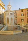 La Bollente fountain Stock Image