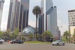 La bolsa de acción primaria de México reside en El Paseo de la Reforma en Ciudad de México Imagen de archivo libre de regalías