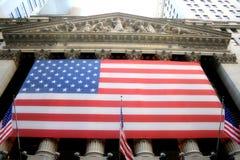 La Bolsa de Nuevo York Foto de archivo libre de regalías