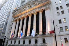 La Bolsa de Nuevo York Imagenes de archivo