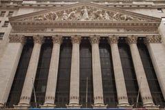 La Bolsa de Nuevo York Foto de archivo